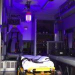 Patient Compartment Blue Light Disinfection