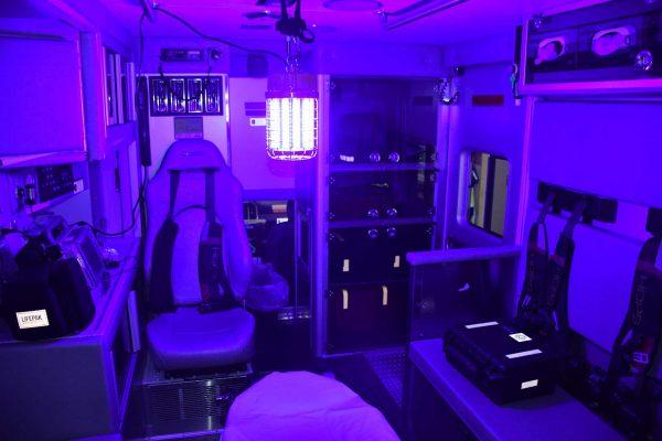 Portable Bacteria Killing Light Ambulance
