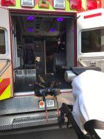 Blue Light Disinfection Ambulance