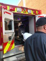 Ambulance Disinfection Blue Light