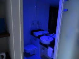 Bathroom LED Blue Light Disinfection