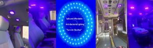 LED Bacteria Killing Blue Light