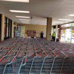Grocery Store Cart Sanitation